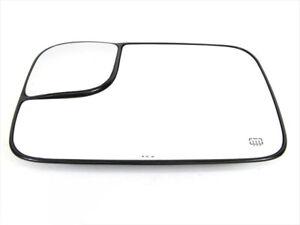 2005-2009 Dodge Ram 2500 3500 Power Tow Mirror Heated GLASS Drivers Side OEM