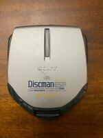 Sony D-E301 Discman Walkman ESP AVLS Mega Bass Portable CD Player **Tested**
