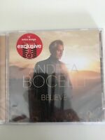 Andrea Bocelli Believe Limited Edition Target Exclusive CD 2 Bonus songs NEW