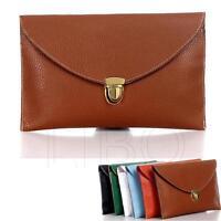 Women lady  Envelope Clutch Shoulder Chain Evening Handbag Tote Bag Purse
