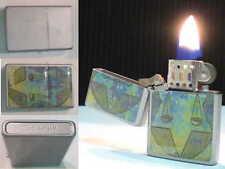 BRIQUET Ancien - CHAMP Slim Tempête - Vintage Storm LIGHTER Feuerzeug Accendino