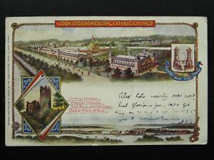 Ireland CORK INTERNATIONAL EXHIBITION c1902 UB Postcard by Wood Printing Works