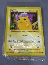 "Pokemon ""PIKACHU"" E3 Promo Red Cheeks Shadowless Sealed 58/102 Base Set 1999"