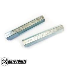 Kryptonite Zinc Plated Duramax Tie Rod Sleeves For 01-10 GM 6.6L Duramax Diesel
