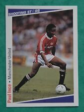 MERLIN SHOOTING STARES 1991-92  PAUL INCE  -  MANCHESTER UNITED   No 163