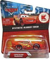 DISNEY CARS 1 2 3 KMART DIECAST 1:55 - LIGHTNING MCQUEEN - RUBBER TYRES! UK!