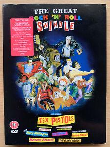 The Great Rock 'n' Roll Swindle DVD Sex Pistols Punk Rock Musical Film Classic