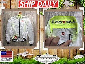 Castelli Nano Protection H2O Wind Bicycle Windbreaker Packable Jacket Women M❄️