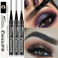 Eyebrow Pen Eye Makeup Microblading Tattoo 4 Head Long Lasting For Women Lady