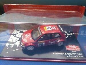 COCHE 1/43, ALTAYA, MODELO CITROEN SAXO KIT CAR 1999 MONTE CARLO