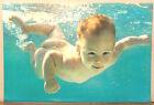 (PRL) 1992 BIMBO ACQUA WATER BABY CHILD ENFANT VINTAGE PRINT AFFICHE ART POSTER
