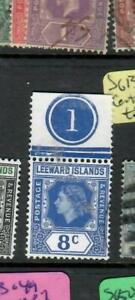 LEEWARD ISLANDS (PP0105B)  QEII   8C PLATE SINGLE  SG  133      VFU
