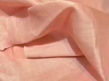 "Light weight 100% Ramie Linen Soft Pink  45"" Wide By The Yard"