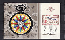 carte  rallye  PHILATEC  1964    ANDORRE   FOIX