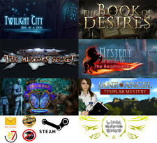 Twilight City+The Book of Desires+Sister s Secrecy+Mystery Castle+ PC STEAM KEY
