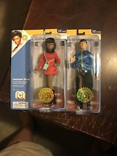 MEGO MR SPOCK AND LIEUTENANT UHURA MOC