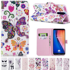 Magnetic Flip Leather Wallet Phone Case Cover For Samsung Huawei Various Phone