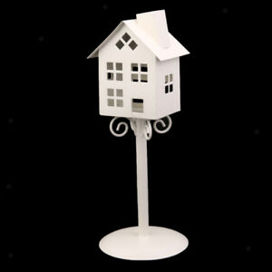 Metal Iron Candle Holder Tea Light Stand Table Lantern Decor