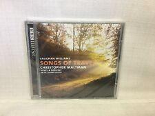 (AD) Vaughan Williams Songs of Travel Christopher Maltman Sealed CD, BBC MUSIC