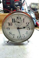 Antique New Haven Peg Leg Repeater Alarm Clock-Circa 1920's-Running!! Serviced