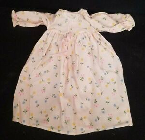 My Friend Fisher Price Doll Outfit Pink Flowered Nightgown 786