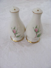 Franciscan China Cherokee Rose - Gold Band - Salt & Pepper Shakers