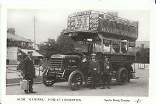 Road Transport Postcard - Bus - 'General' B1182 at Loughton, Essex - 2909