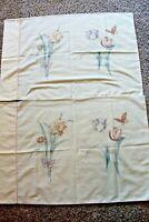 "Set of 2 Vintage pillowcase Martex flowers standard 20"" by 30"""