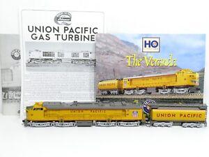 """Lionel H0 (DC)US Diesellok GAS TURBINE """"The Veranda"""" der UP Messing DCC & SOUND"""
