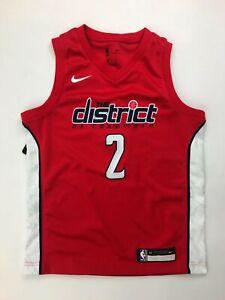 Nike NBA Washington Wizards Youth M Jersey Red Navy White #2 Wall B7B1CP