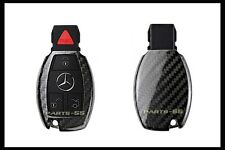 REAL CARBON FIBER CASE FOR MERCEDES-BENZ W212 W166 W205 C117 W204 SMART KEY FOB