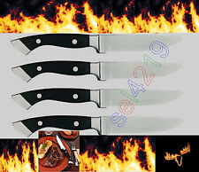 Longhorn Steakhouse Steak Knives 4 Knife Set BBQ Kitchen Dining Chop Camping New