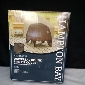 Hampton Bay 30in Round Outdoor Patio Fire Pit Cover 1002 684 795