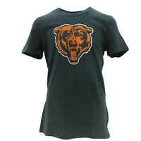 Chicago Bears Girls Youth Size Official NFL Team Apparel Distressed T-Shirt New