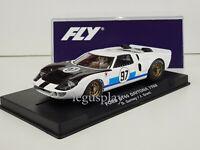 Slot Car Scalextric Fly A2021 Ford GT40 #97 24Hs. Daytona 1966 D Gurney / J