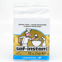 SAF-INSTANT Gold YEAST–For Bread  16 oz.