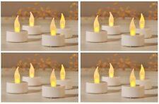 16 LED Teelichter + Batterie elektrisches Teelicht flammenlose Kerze Kerzen Deko