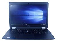 """Dell Latitude E7470 14"""" Intel i5 16 GB RAM 128 GB SSD Win 10 WiFi B Grade Laptop"""