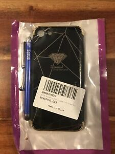 iPhone 7 Case cover With Stylus black/gold