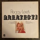 Peggy Lee's Greatest Vinyl LP Orig Starline Record VG+ photo