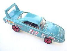 Metallic Teal '70 Plymouth Superbird Race Car. Hot Whells CFJ07. LOOSE, fresh!