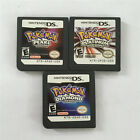 Pokemon Platinum+Pearl+Diamond US Version 3Pcs Game Card For Nintendo DS NDS DSI