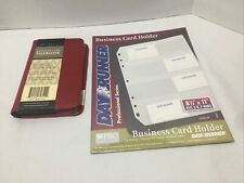 Business Card Book Holder New Holds 96 Cards 3 Ring Binder Insert