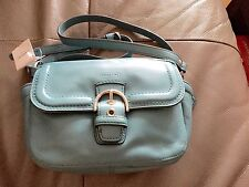 COACH CAMPBELL LEATHER CAMERA BAG $258 F25150