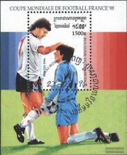 CamboBC Bloque 218 (edición completa) usado 1996 Fútbol-WM ´98, Francia
