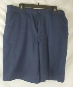 Izod Golf Men's 36 Shorts Classic Fit Blue Athletic Golf New with Tags