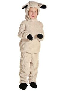 Child Kids Woolly Sheep Lamb Nativity Costume SIZE L (with defect)