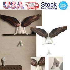 Angel Art Sculpture Wall Decoration 3D Statue for Living Room Bedroom Decoration