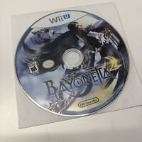 Bayonetta 2 Nintendo Wii U 2014 VG Tested Free Shipping Video Game DISC ONLY