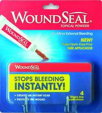 WOUNDSEAL Powder WOUND SEAL 4 Tubes ( 1 package ) FRESH PHARMACY